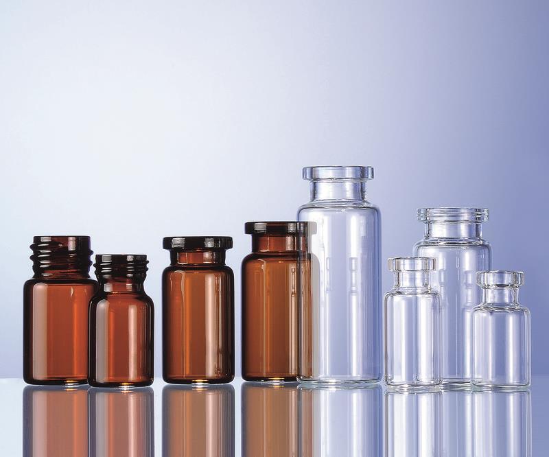 硼硅玻璃管制注射剂瓶
